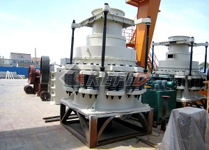 new spring cone crusher