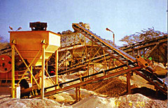 Copper ore crushing machine